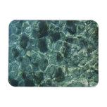 Clean Sea and Rocks, Crete, Greece Magnet