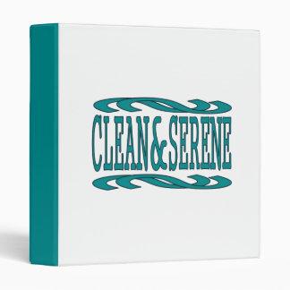 Clean & Serene Binder