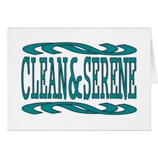 Clean & Serene Cards