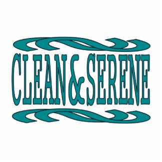 Clean & Serene Cutout