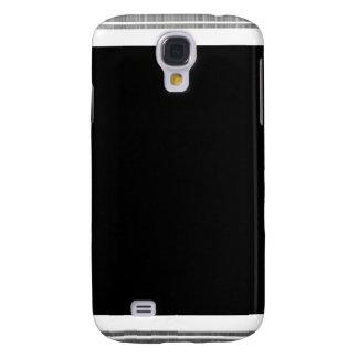 Clean Silver Metallic Edge Border Galaxy S4 Cover