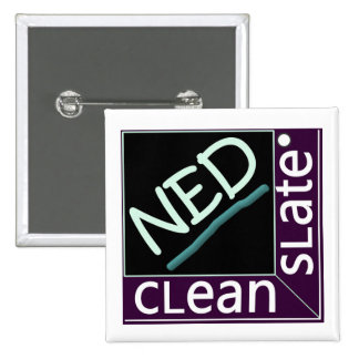 cLean sLate NED gLadiator me 2 Inch Square Button