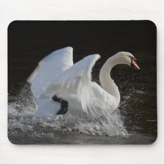 Clean Swan Mouse Pad