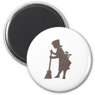 Clean Sweep 2 Inch Round Magnet