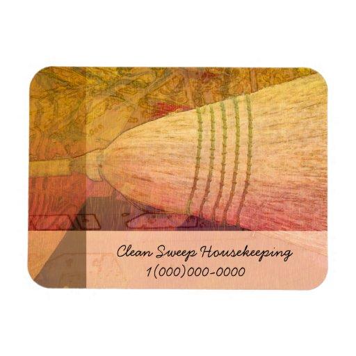 Clean Sweep Broom Premium Magnet