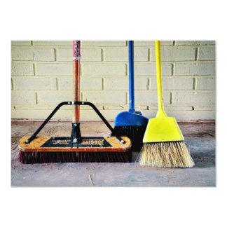 Clean Sweep Brooms Cleanup Crew Card