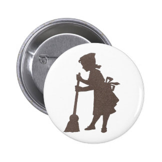 Clean Sweep Pinback Button