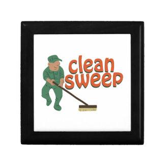 Clean Sweep Trinket Boxes
