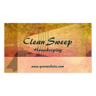 Clean Sweep Housekeeping Business Card