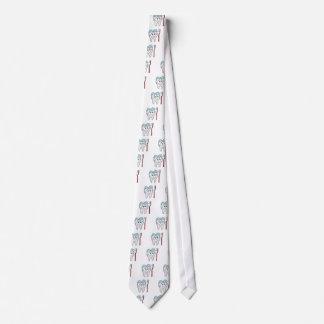 Clean Tooth Emoji Tie