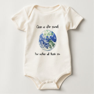 Clean Up After Yourself  Earth Day Tee