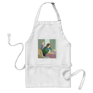 Clean Up at the Mall Adult Apron