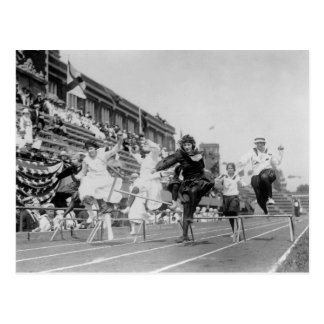 Clean-up on Aisle Three: 1920s Postcard