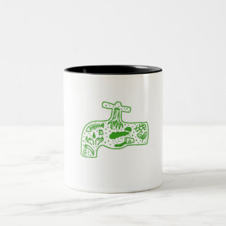 """clean water"" cup -- save the environment"