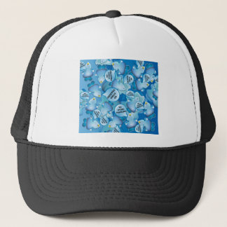 Clean Water Drops Call Out No Hydro-Fracking! Trucker Hat