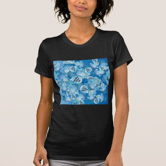 Clean Water Drops Call Out No Hydro-Fracking! T-shirts