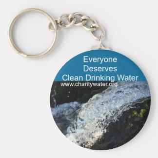 Clean Water keychain