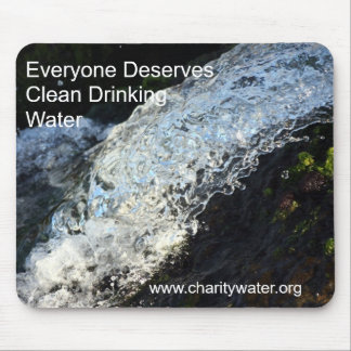 Clean Water mousepad