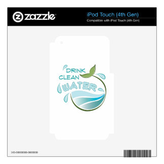 Clean Water iPod Touch 4G Skin