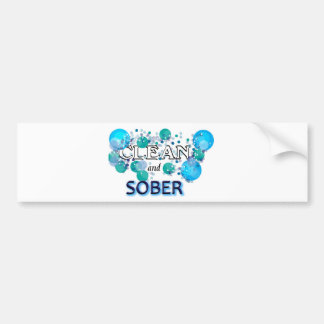 CleanandSOBER.jpg Bumper Sticker