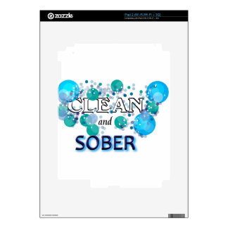 CleanandSOBER.jpg Decal For The iPad 2