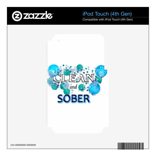 CleanandSOBER.jpg Skins Para iPod Touch 4G