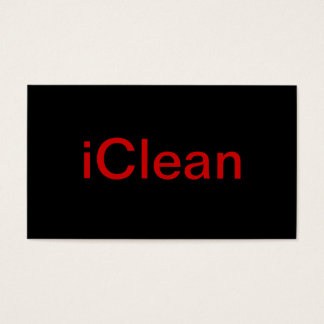 Cleaner Business Card