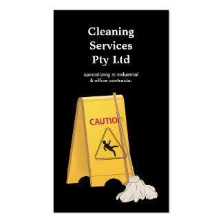 Cleaner Cleaning Service Business Profile Card
