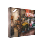 Cleaner - NY - Chelsea - The cleaners Stretched Canvas Prints
