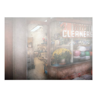 Cleaner - NY - Chelsea - The cleaners Personalized Invite