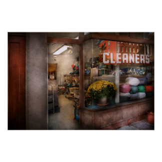 Cleaner - NY - Chelsea - The cleaners Poster