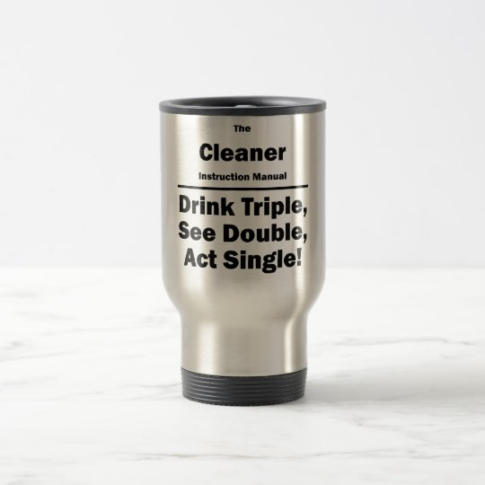 cleaner travel mug