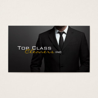 Cleaners Inc. /Dry Cleaning Business Card