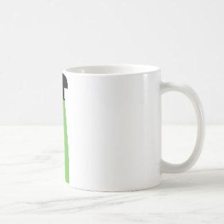 cleaning aerosol can green coffee mug