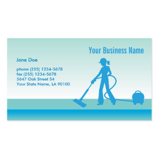 Cleaning Business Card