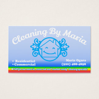 Cleaning By Maria Custom Order For Maria - Business Card