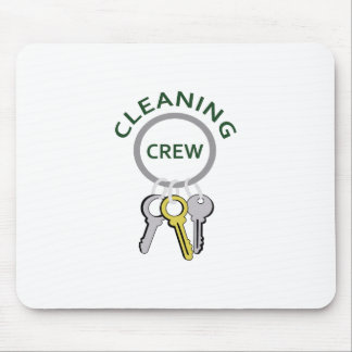 CLEANING CREW MOUSE PAD