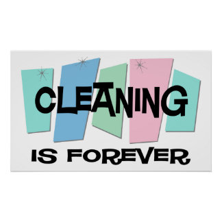 House cleaning posters prints