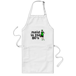 Cleaning Maid In The 80's Long Apron