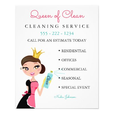 cleaning service flyers