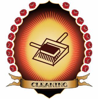 Cleaning Mandorla Acrylic Cut Out