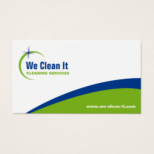 House cleaning company business cards templates zazzle cleaning service business card colourmoves