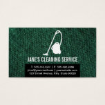 Cleaning Repair Business Card
