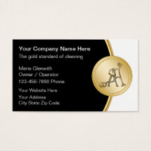 Cleaning service business cards templates zazzle colourmoves