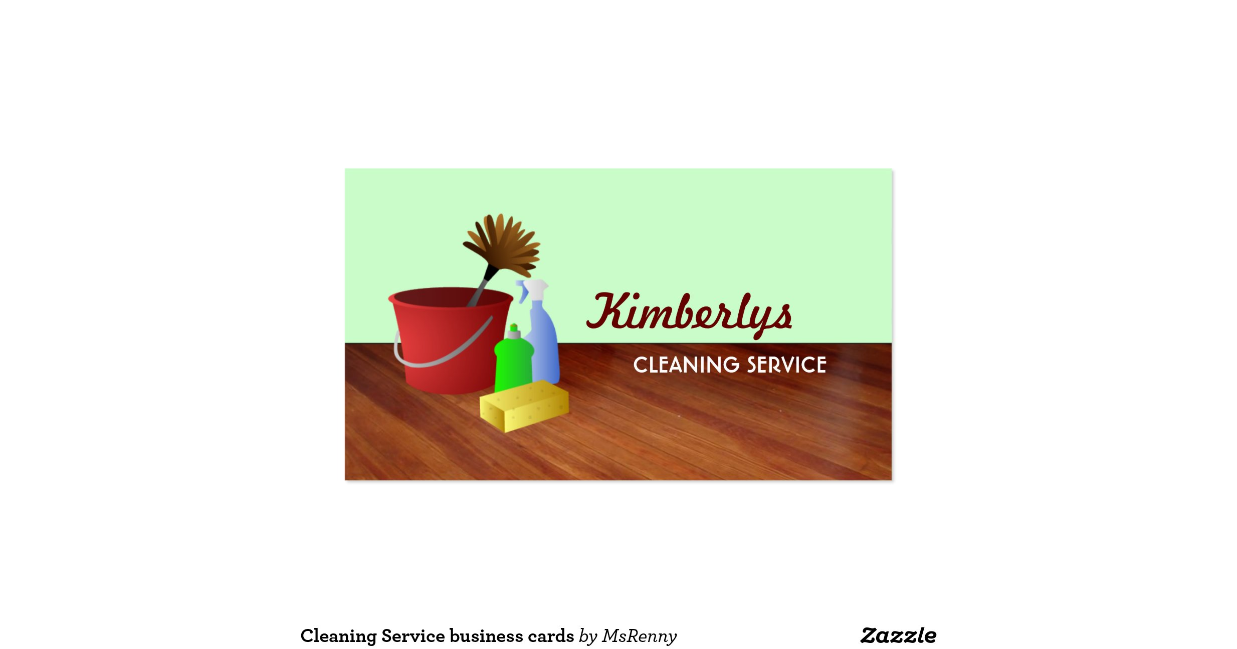 Cleaning service business cards for Cleaning service business cards