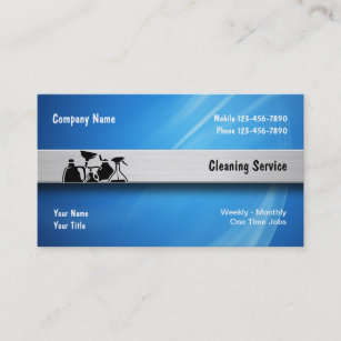 Janitorial business cards zazzle cleaning service business cards colourmoves