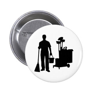 Cleaning service button