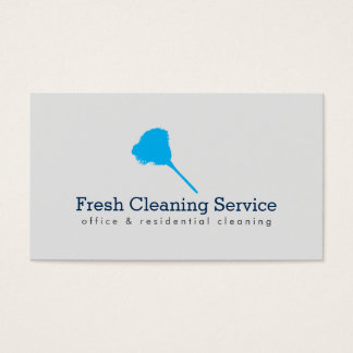 Cleaning Service, Housekeeper II Business Card