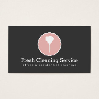 Cleaning Service, Housekeeper Vintage Style II Business Card