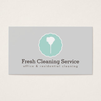 Cleaning Service, Housekeeper Vintage Style IV Business Card